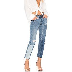 Levi's Ragged Lands Patchwork Jeans